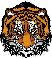 tiger print clipart tiger face