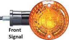 kawasaki vulcan drifter 1500 kawasaki front turn signal vn 800 1500 drifter vulcan black flasher blinker wink fits