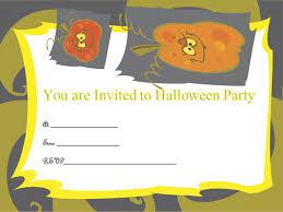 Pumpkin Invitations Template Halloween Party Invitation Template Scary Invitations