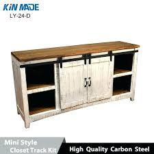 outstanding sliding glass cabinet door track sliding door cabinet mini cabinet barn door hardware flat track