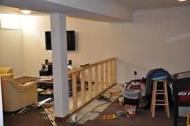 building a half wall
