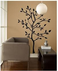 wall decals 19in tree branches repositionable removable reusable l and stick