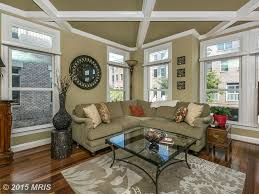 Transitional Living Room Furniture Living Room With Carpet Box Ceiling In Baltimore Md Zillow