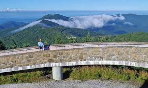 mt mitchell observation deck views