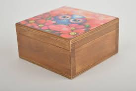 bo wooden jewelry box handmade jewelry bo for s jewellery gift bo madeheart