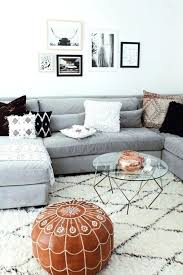 grey couch decor tips rugs that go hand in with a sofa best color rug for