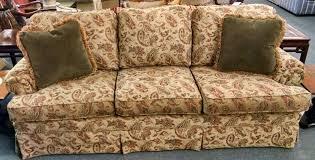 Paisley Sofa thomasville paisley sofa delmarva furniture consignment 5673 by uwakikaiketsu.us