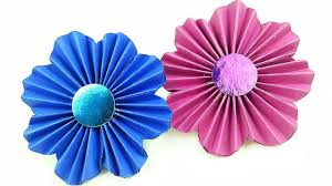 Paper Rosette Flower Diy Making Simple Paper Rosettes Flower Tutorial Backdrop Paper