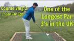 COURSE VLOG 2 | LONGEST PAR 3 IN THE UK | UNDER PAR GOLF | RODWAY ...