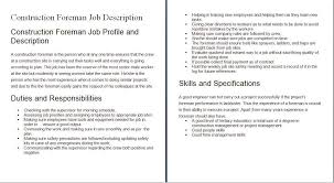 Contractor Job Description construction worker job duties Petitingoutpolyco 1