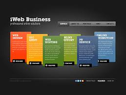 website template video business flash video gallery template