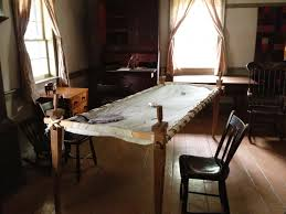 Mennonite Furniture Kitchener 1820 Log Schoolhouse Of Mennonite Quilts Shoo Fly Pie Thrift
