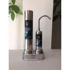 Máy Lọc Nước Tại Vòi Water Purifier - Bộ Lọc Nước 2 Lõi Sứ Than Hoạt Tính  Không Dùng Điện Không Nước Thải-LN01 W chính hãng 485,000đ