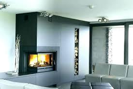 contemporary fireplace screens ideas diy glass screen modern fire