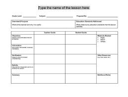teacher lesson plan template the 25 best lesson plan templates ideas on pinterest