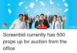 The Office Auction Nbc Bid Now Gorenbid The Office Meme On Me Me