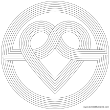 Heart Coloring Pages Ready For Download