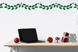 Christmas gathering by shawneedawn and. Christmas Holly Garland Svg Png Dxf By Designed By Geeks Thehungryjpeg Com