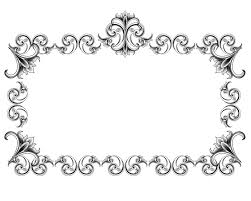 border frame victorian. Plain Victorian Victorian Style Frame And Border I