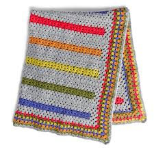 Yarnspirations Patterns Extraordinary Bernat PopAMinute Crochet Blanket Pattern Yarnspirations