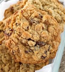 chewy oatmeal raisin pecan cookies