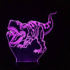 Lights Out Yts Amazon Com Xiujie 3d Night Light Dinosaur Novelty Touch