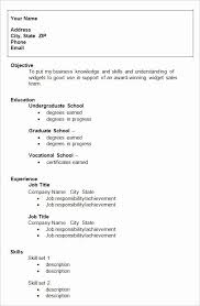 To help you write about your internship experience, here's the previous sample, but with an internship section instead to help you model your own resume: Resume Template College Student Inspirational 24 Best Student Sample Resume Templates Wiseste College Resume Template College Application Resume College Resume