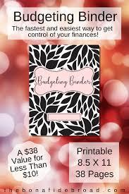 Budget Binder Budget Planner Book Finance Planner
