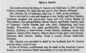 Myra Scott Daniels obit - Newspapers.com