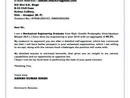 Cover Letter For Environmental Engineer Fresh Graduate Sample Job