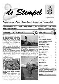 Stempel 2015 04 By Redactie De Stempel Issuu