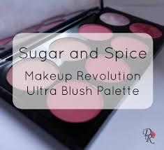 sugar and e makeup revolution ultra blush palette