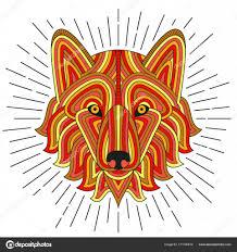Kreativních Stylizovaných Psa Dobré Pro Loga Tetování Tričko