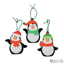 Penguin Foam Ornament Craft Kit/Christmas/Craft Kits/Art & Crafts/Toys