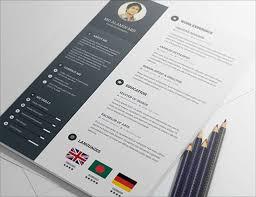 Free Creative Resume Templates Download Sonicajuegos Com