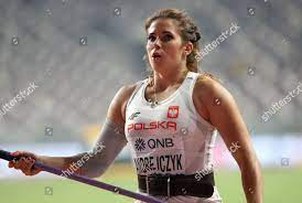 Maria Andrejczyk Poland competes womens ...