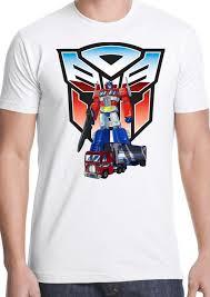 Optimus Prime Embroidery Design Transformers T Shirt Autobot Decepticon Optimus Prime Cartoon 80s 90s Kids Show Online Shirts T Shirt Design Online From Zhangjingxin2 15 7