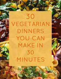 I like to make it with lime salsa. 30 Quick Dinners With No Meat