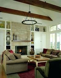 small fireplace mantel lighting stone rustic mantels ideas lamps