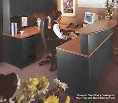 wrap around office desk. 72 wraparound custom reception desk w left bridge wrap around office i