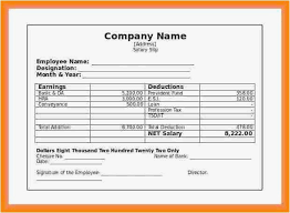 Pay Stub Samples Templates Independent Contractor Pay Stub Template Format Word Document Pay