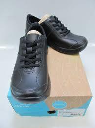 dansko womens elise black leather laced sneakers eu 36 us 5 5 6 4401020200
