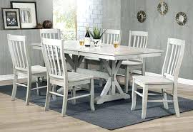 gray dining room table. Gray Wood Dining Chairs Room Set Grey . Herald Table