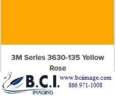 3m Scotchcal Translucent Graphic Film 3630 135 Yellow Rose