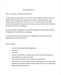 College Personal Statement Examples Grad School Personal Statement Examples Template Business