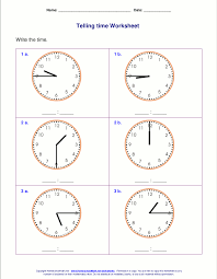 Telling time worksheets for 2nd grade | ώρα /time | Pinterest ...