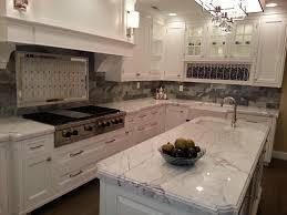 White River Granite Kitchen White Kitchen Cabinets With Super White Granite 03322120170419