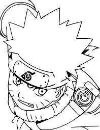 Small Picture Naruto With Serious Face Naruto Coloring Pages Pinterest Naruto
