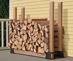 Simple DIY Firewood Storage