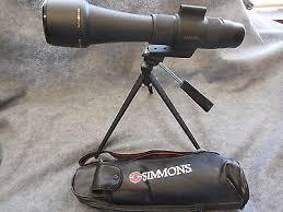 simmons 20 60x60. simmons 20-60x60 spotting scope w/ tripod -- used 20 60x60 n